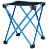 CAMPZ Tabouret pliant ultra-léger - Siège camping - M bleu